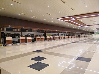 Cochin International Airport - Check-in counters at Terminal 1