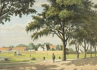 Fort Rotterdam - Fort Rotterdam in late 19th-century.