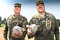 COL Ray Compton and CSM Snyder throw out the first pitch (35248522814).jpg