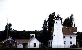 Cove Point Light lighthouse in Maryland, United States