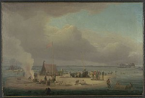 Cabalva (1811 EIC ship) - Image: Cabalva wrecked 1818