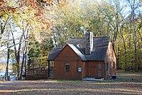 Cabin 1 Staunton River State Park - Waterview cabin (6842283213).jpg