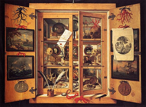 Cabinet of Curiosities 1690s Domenico Remps