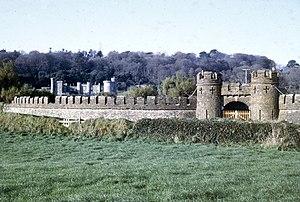 Caerhays Castle - Image: Caerhayes Castle 1