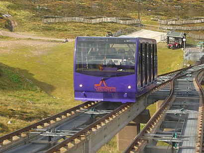 How to get to Cairngorm Mountain with public transport- About the place
