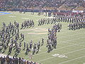 Cal Band performing pregame at 2008 Big Game 07.JPG