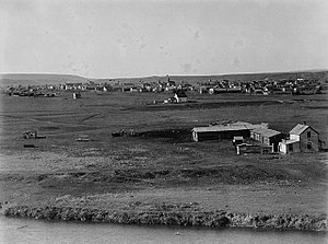 Calgary - Calgary as it appeared circa 1885