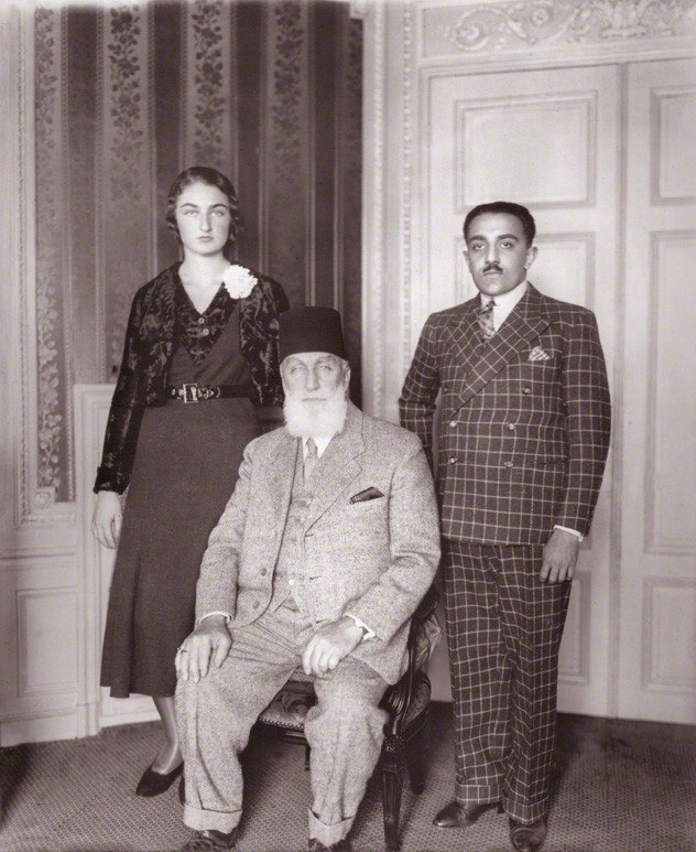 Caliph Abdulmecid II of the Ottoman Empire