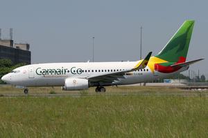 Camair-Co - A Camair-Co Boeing 737-700 at Paris-Charles de Gaulle Airport in 2014.