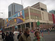Vancouver Canada Post Office During The 2010 Winter Olympics