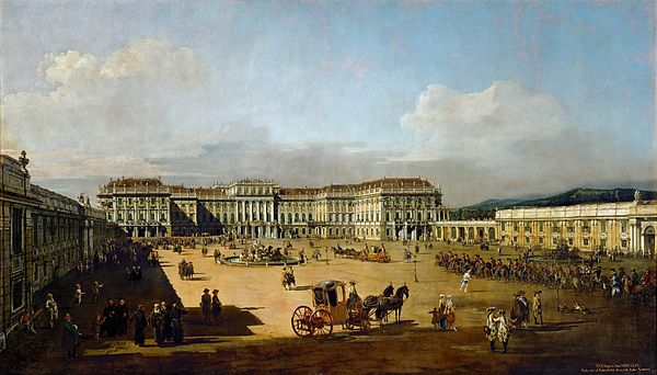 Receipt Book Walgreens Schnbrunn Palace  Wikiwand Apartment Rental Receipt Template Pdf with Organizing Receipts Word Schnbrunn By Bernardo Bellotto  Office Depot Receipt Word
