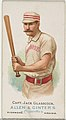 Captain Jack Glasscock, Baseball Player, from World's Champions, Series 1 (N28) for Allen & Ginter Cigarettes MET DP838206.jpg