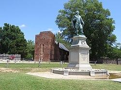 Captain John Smith Statue, Historic Jamestowne, Colonial National Historical Park, Jamestown, Virginia (14239039490).jpg