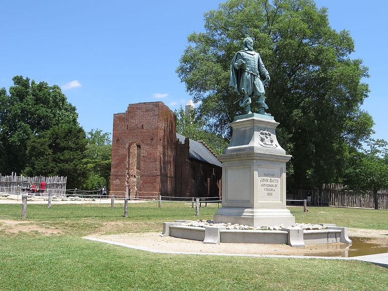 File:Captain John Smith Statue, Historic Jamestowne, Colonial National Historical Park, Jamestown, Virginia (14239039490).jpg
