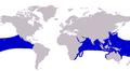 Caranx sexfasciatus distribution.png