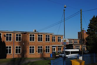 Cardinal Wiseman Catholic Technology College - The college in November 2016