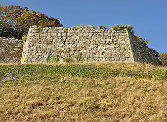 Federigo Giambelli - One of Giambelli's bastions at Carisbrook Castle, built between 1597 and 1600.