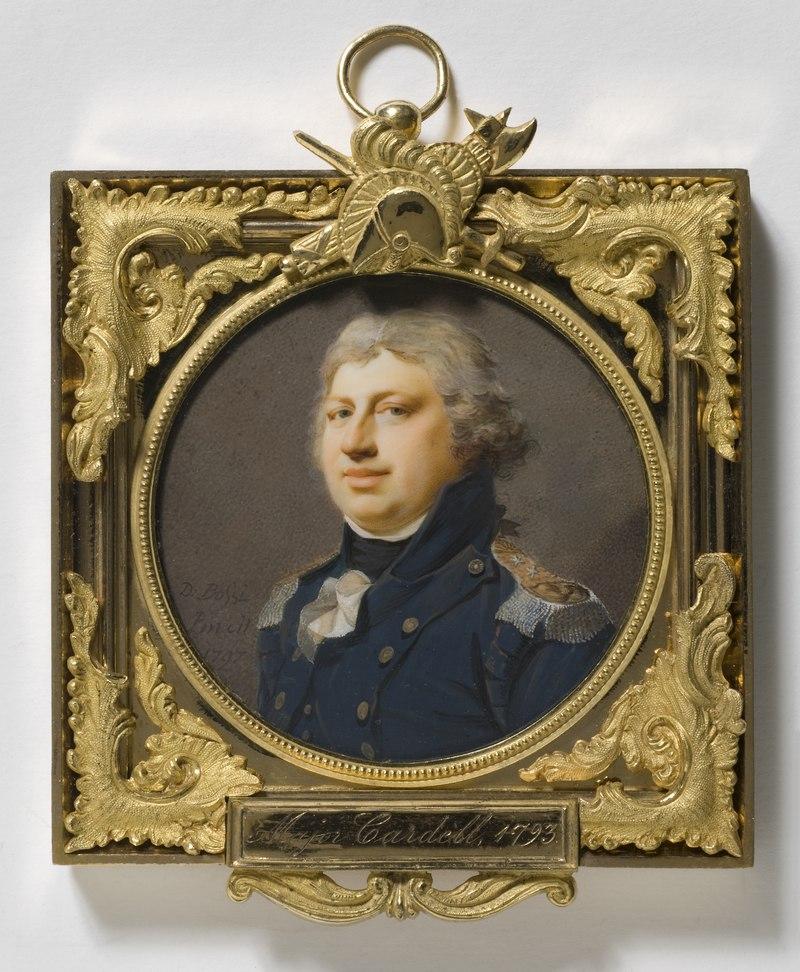 Carl von Cardell, 1764-1821, Lieutenant general (Giovanni Domenico Bossi) - Nationalmuseum - 24043.tif
