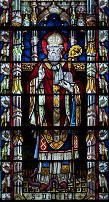 San Patrizio (cattedrale di Carlow, disegno di Franz Mayer).