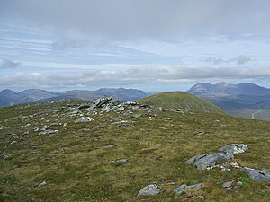 Carn na Criche and the view north-west - geograph.org.uk - 893188.jpg