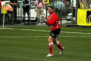 Caroline Jönsson - Caroline Jönsson on 24 July 2011
