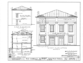 Carriage Factory, Main and East Fourth Streets, Tuscumbia, Colbert County, AL HABS ALA,17-TUSM,3- (sheet 2 of 3).png