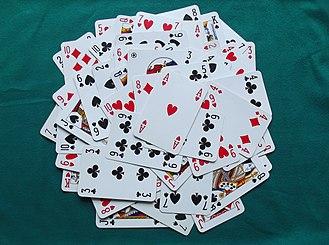Playing card - Modern playing cards