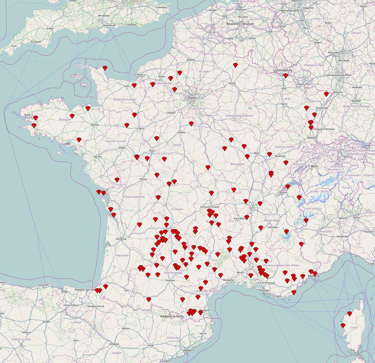 Les plus beaux villages de france wikipedia - Les plus beaux gites de france ...