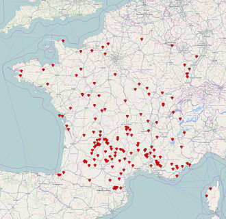 Les Plus Beaux Villages de France - The labelled villages in 2014