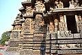 Carved Outer walls, Hoysaleswara Temple Halebid.jpg