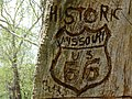 Carved Route 66 Sign - Devils Elbow - Missouri - USA (41916764281).jpg