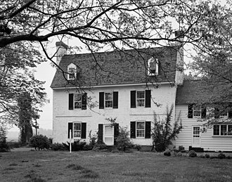National Register of Historic Places listings in Kent County, Maryland - Image: Carvill Hall MD HABS1