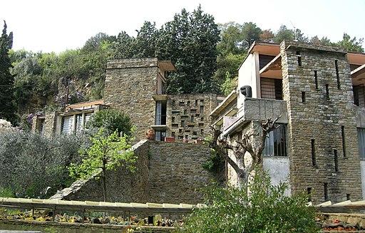 Leonardo Ricci, Casa-studio Ricci (progetto: 1949 - costruzione: 1964)