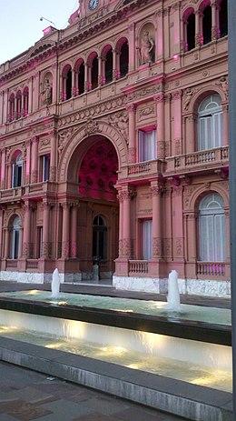 Casa rosada wikipedia - Casa stile neoclassico ...