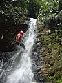 Cascadas del valle misterioso Canyoning.JPG