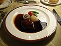 Cassiopeia train French cuisine meat dish.JPG