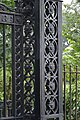 Cast Iron Gate Pillar Detail - Serampore College - Hooghly 2017-07-06 0923.JPG