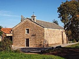 La eklezio de San Pancraziu, en Castellare-di-Casinca