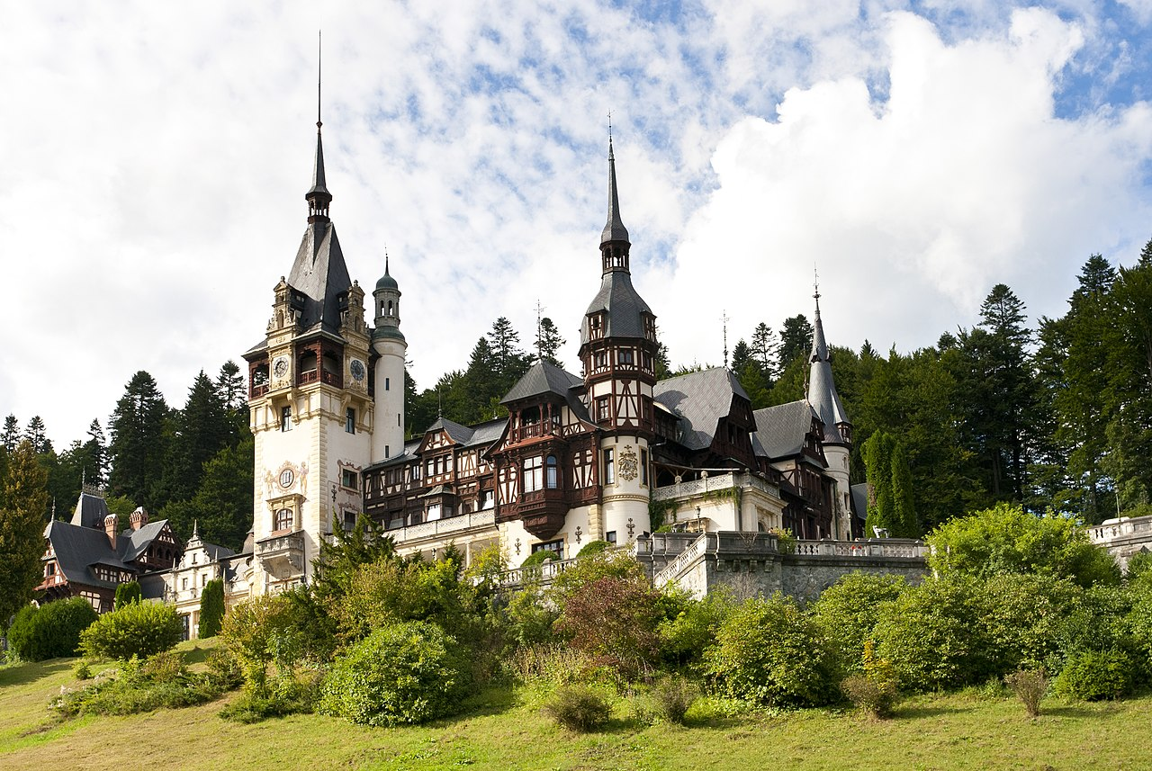 Pałac Peles - Sinaia, Rumunia