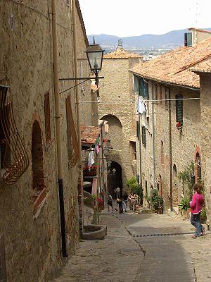 Castiglione della Pescaia - Hilltop fortress - Castiglione della Pescaia.