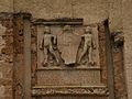 Castrovillari Castello Aragonese dettaglio dell'effige sulla facciata.JPG