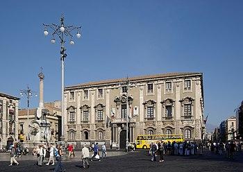 tour palazzo municipale catania