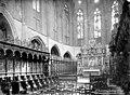 Cathédrale Notre-Dame (ancienne) - Vue intérieure du choeur - stalles et maître-autel - Saint-Bertrand-de-Comminges - Médiathèque de l'architecture et du patrimoine - APMH00002610.jpg