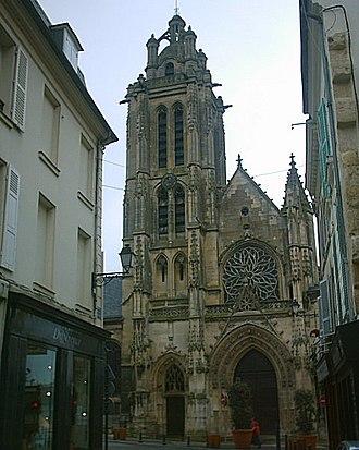 Pontoise - Cathédrale Saint Maclou