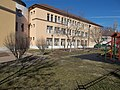 Catholic School, south facade detail, 2019 Kalocsa.jpg