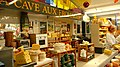 Cave of Cheese market shop in Lille, France.JPG