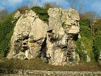 Caves Creswell Crags - geograph.org.uk - 90873.jpg