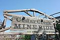Cedar Point Cedar Creek Mine Ride entrance (14832156595).jpg