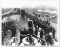 """Ceremony at """"Wedding of the Rails,"""" May 10, 1869 at Promontory Point, Utah.png"""