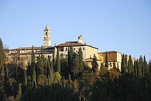 Società Internazionale per lo Studio del Medioevo Latino - Certosa di Firenze/Certosa del Galluzzo, in Florence, base of the Society